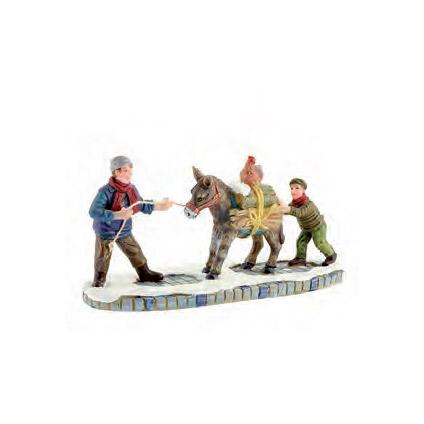 Luville beeldje ezel 13 x 5 x 6 cm