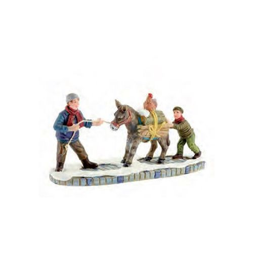 Figurine Luville âne 13 x 5 x 6 cm