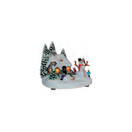 Luville Kersttafereel 17,5 x 15 x 15 cm