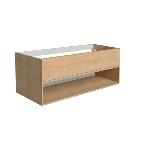 Meuble lavabo Allibert Marny 2T 120cm chêne arlington