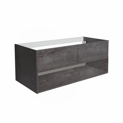 Allibert wastafelonderbouw Marny 2L 120cm beton