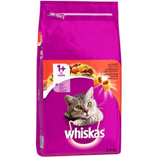 Whiskas droog adult rund 3,8 kg