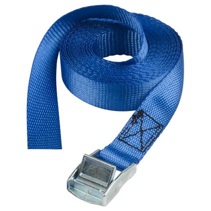 Sangle bagagère bleu 2,5Mx25MM