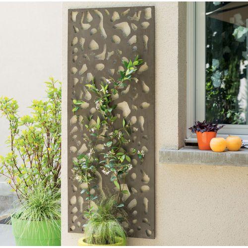 Nortene decoratieve paneel meetal grijs 60x150cm