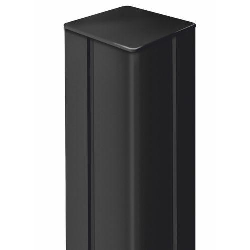 Nortene Alupost paal t aluminium antraciet 6x6x115cm