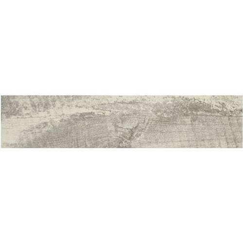 Carrelage sol 'Trophy' blanc 21,5 x 99 cm
