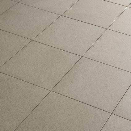 Carrelage sol 'Full' gris clair 30 x 30 cm