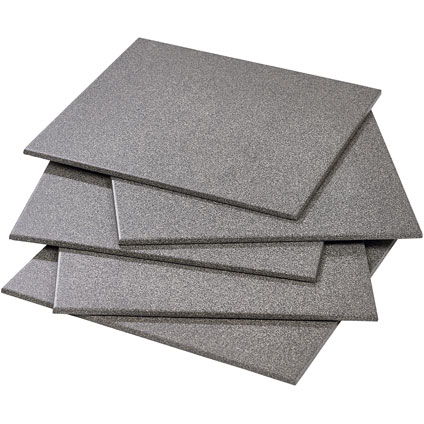 Vloertegel 'Full' donker grijs 30 x 30 cm