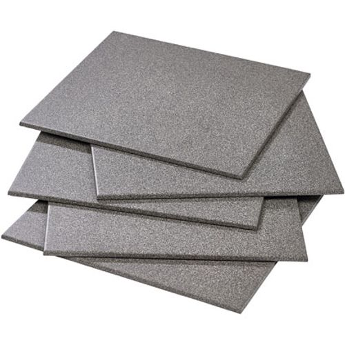 Carrelage sol 'Full' gris foncé 30 x 30 cm