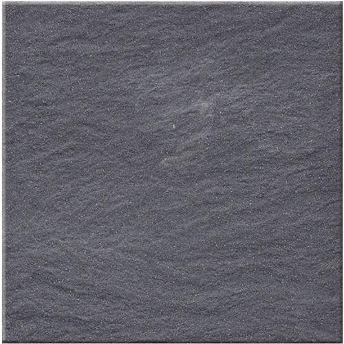 Vloertegel 'Full Black Structure' antraciet 30x30cm