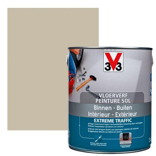 Peinture sol V33 Extrême Traffic argile satiné 2,5L