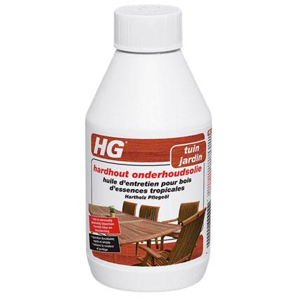 Huile d'entretien pour bois d'essences tropicales HG 250ml