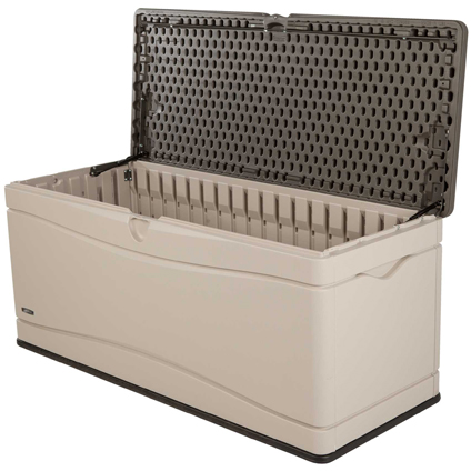 Coffre de jardin Lifetime 'Storage Box' beige/brun 152,4 x 61 cm