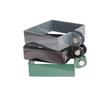 Collier de fin pour portillon Giardino carré gris 8 cm