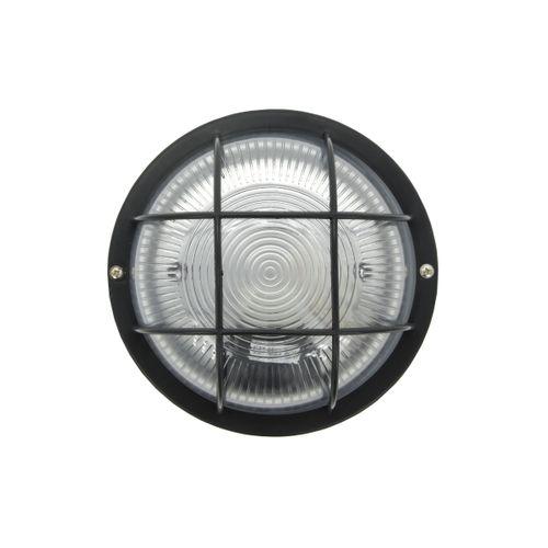 Profile wandlamp rond zwart
