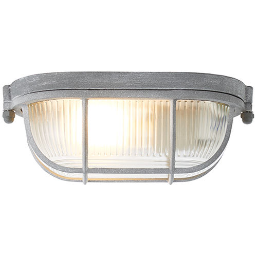 Brilliant plafondlamp Bobbi betongrijs 21cm