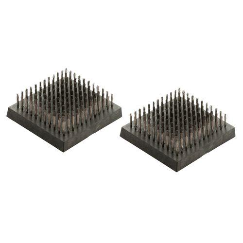 Landmann vervangbare staalborstel – 2 stuks