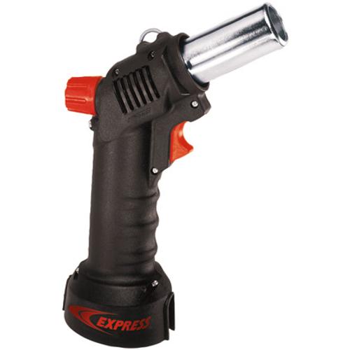Express hete luchtpistool met gas en opzetstukken