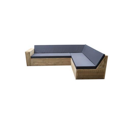 Fauteuil lounge Wood4you One bois d'échafaudage 2,5x2,2m