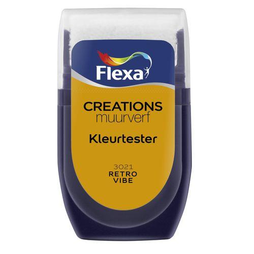 Flexa muurverf tester Creations retro vibe 30ml