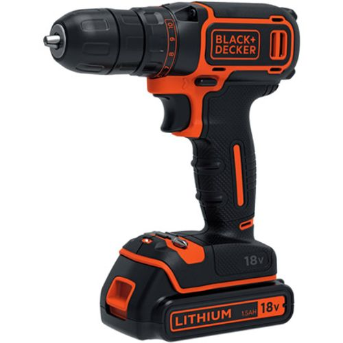 Black+Decker accuschroefboormachine 18B-QW 18V