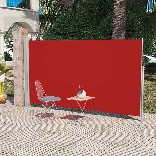 Uittrekbaar wind- / zonnescherm 160 x 300 cm rood