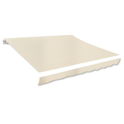 Canvas zonnescherm met luifel exclusief frame 300 x 250cm crème