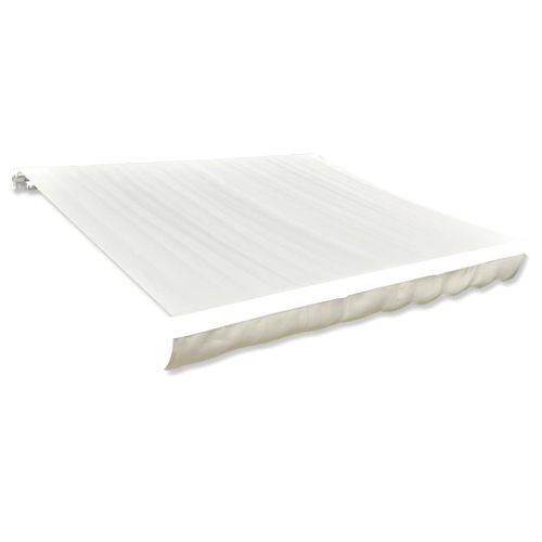 Canvas zonnescherm met luifel exclusief frame 400 x 300cm crème