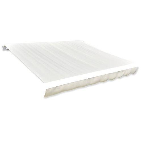 Canvas zonnescherm met luifel exclusief frame 600 x 300cm crème