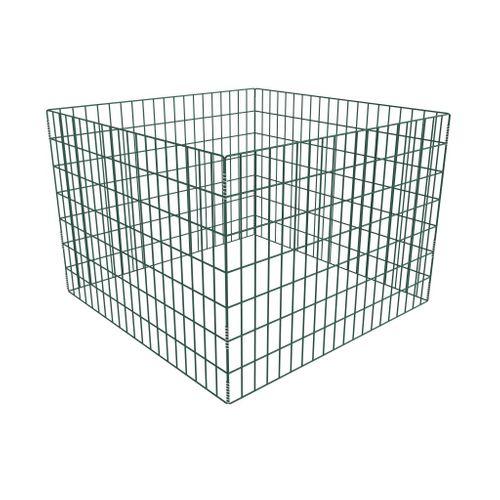 Vierkante compostbak 100 x 100 x 70 cm