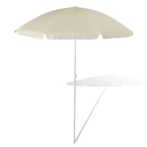 VidaXL parasol Tinos zandwit 1,8m