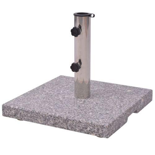 Parasolvoet vierkant graniet 20kg
