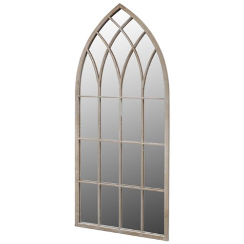 VidaXL gotische boogvormige tuinspiegel 115x50cm