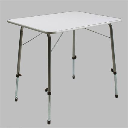 Cross camping tafel met regelbare poten 80 x 50 cm