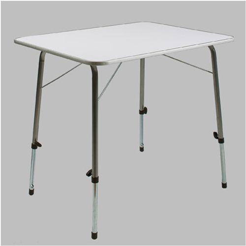Table de camping Cross avec pieds réglables 80 x 50 cm