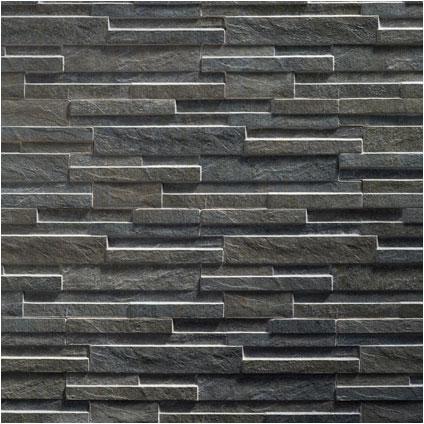 Briquette de parement Klimex 'UltraStrong Avella' anthracite 0,96 m² - 15 pcs