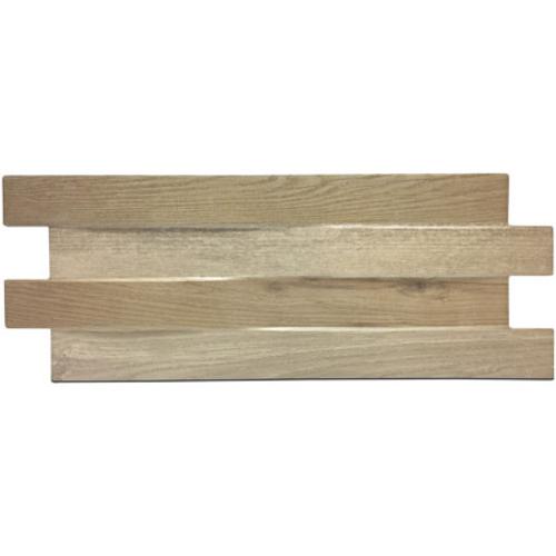 Briquette de parement Klimex 'UltraStrong Stonewood' chène 0,96 m² - 15 pcs