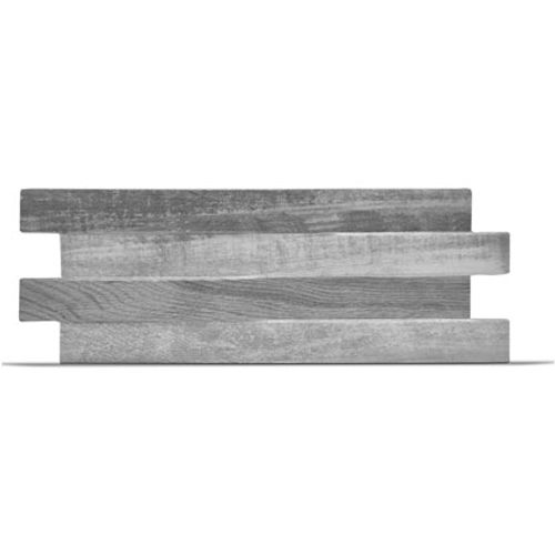 Klimex steenstrip 'UltraStrong Stonewood' eik grijs 0,96 m² - 15 pcs