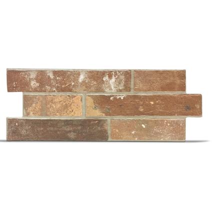 Briquette de parement Klimex 'UltraStrong Milano Loft' rouge 0,96 m² - 15 pcs
