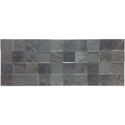 Klimex steenstrip 'UltraStrong Square' antraciet 0,94 m² - 14 pcs