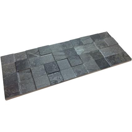 Briquette de parement Klimex 'UltraStrong Square' anthracite 0,94 m² - 14 pcs