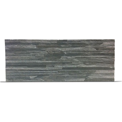 Klimex steenstrip 'UltraStrong Toscani' antraciet 1,08 m² - 16 pcs
