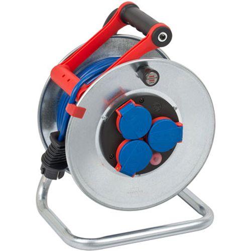 Brennenstuhl kabelhaspel garant S IP44 25m AT-N05V3V3-F 3G1,5 blauw