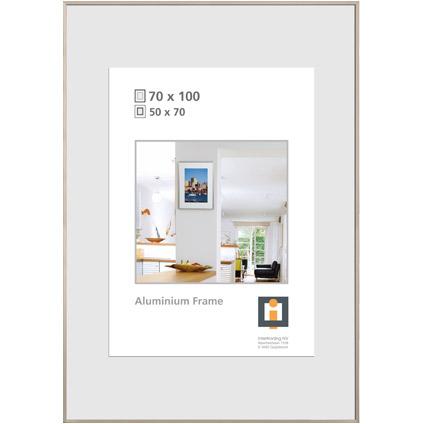 Intertrading fotolijst zilver 70 x 100 cm
