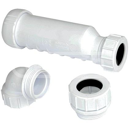 HepVo stankafsluiter 32mm + adapters