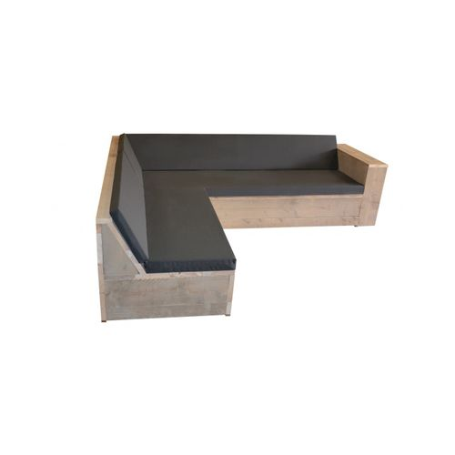 Fauteuil lounge Wood4you One bois d'échafaudage 2x2,5m