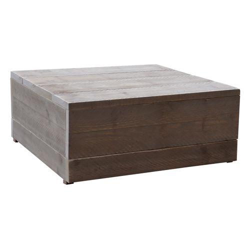 Wood4You hocker bijzettafel steigerhout