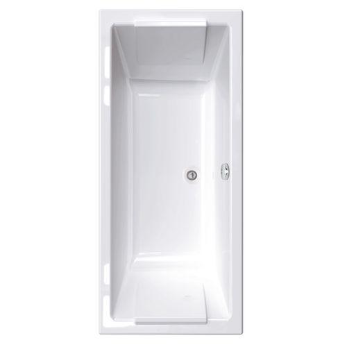 Baignoire rectangulaire Allibert Square 170x75x50,5-53,5cm blanche