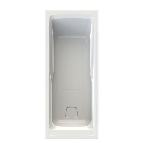 Baignoire rectangulaire Allibert Sylene 170x70x54-55cm blanche