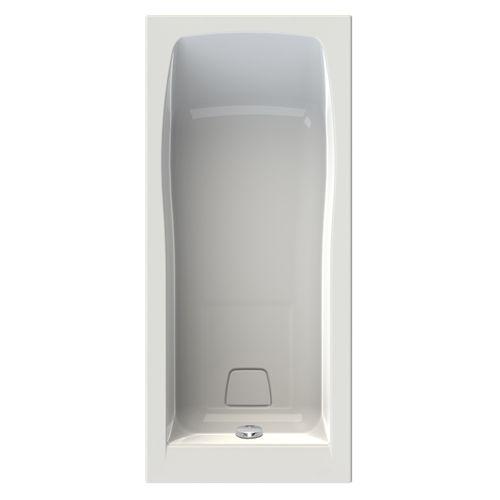 Baignoire rectangulaire Allibert Cosmo 170x75x53,5-55cm blanche